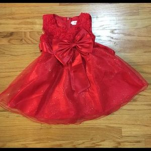 Other - Red Baby Girl Dress